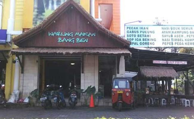 kuliner malam di Tangerang